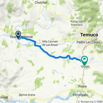 De Camino a La Junta MDD, Nueva Imperial a 21 de Mayo/ Huichahue, Quepe