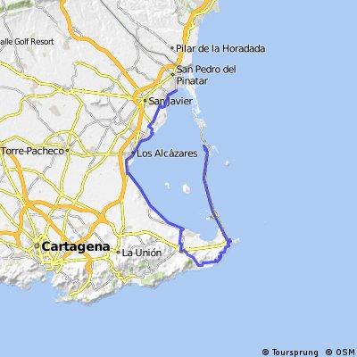 Mar Menor - Calblanque