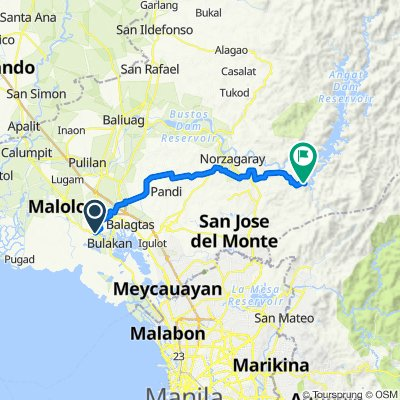 Tabang Access Road 455, Bulacan to Philippines, Norzagaray