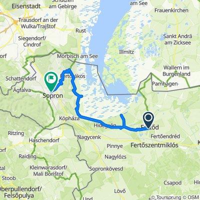 2 napos PaNaTour kerékpártúra Sopron, Fertőd és a Fertő-tó környékén 2. nap