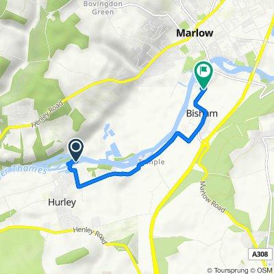 Mill Lane 112A, Hurley to Stoney Ware Close, Bisham