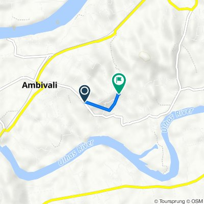 N.R.C. Colony, Ambivli to Unnamed Road
