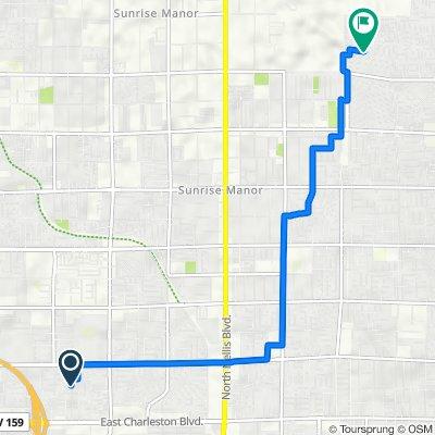 North Ronald Lane 217, Las Vegas to Castlemont Avenue 6076, Las Vegas