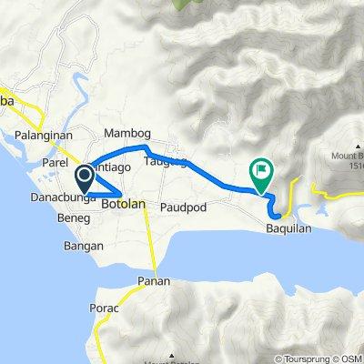 Korokoy Road, Botolan to Zambales - Tarlac Road, Botolan