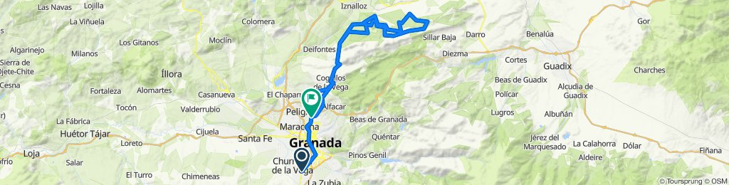 Armilla - Giganta (Iznallor) +100km +2000m