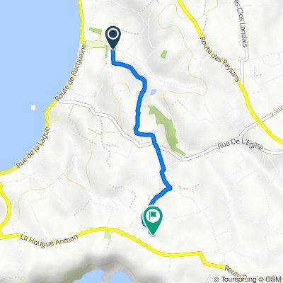 Homestead, Rue des Arguets, St Pierre Du Bois to Menage d'Aval, Route de Pleinmont, Torteval