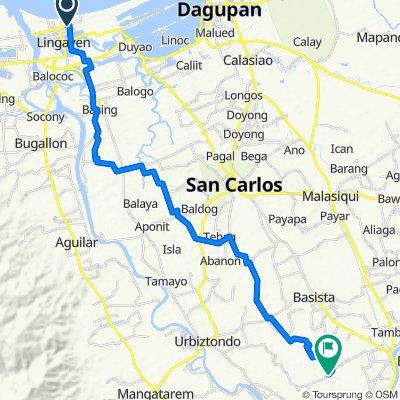 Mendoza Street 557, Lingayen to Idong - Tanolong Brgy Road, Bayambang