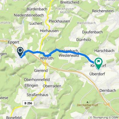Sonnenstraße 16, Hümmerich nach Mühlenacker, Urbach