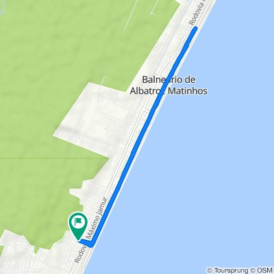 De Rua Xambre, 290, Matinhos a Rua Xambre, 290, Matinhos