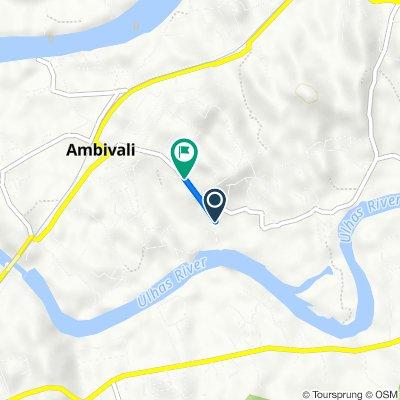 R.S., Ambivli to Yadav Nagar Road, Ambivli