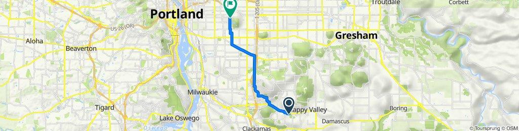 13567 SE 139th Ave, Clackamas to 6040 SE Belmont St, Portland