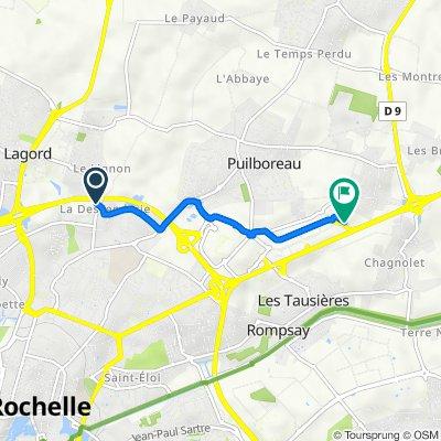 De Rue Robert Noue 3, Lagord à Puilboreau