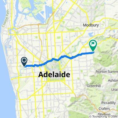 19 Valetta Road, Kidman Park to 1–5 Monaro Crescent, Newton