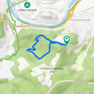 Hühnerscheerberg - Wanderweg 3