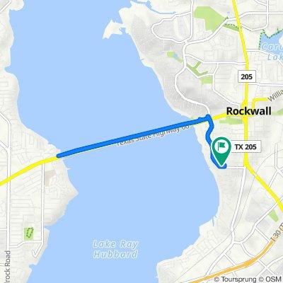 306 Summit Ridge Dr, Rockwall to 306 Summit Ridge Dr, Rockwall