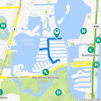 3745 NE 171st St, North Miami Beach to 3745 NE 171st St, North Miami Beach