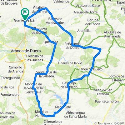 De Carretera de Huerta 11, Gumiel de Izán a Carretera de Huerta 11, Gumiel de Izán