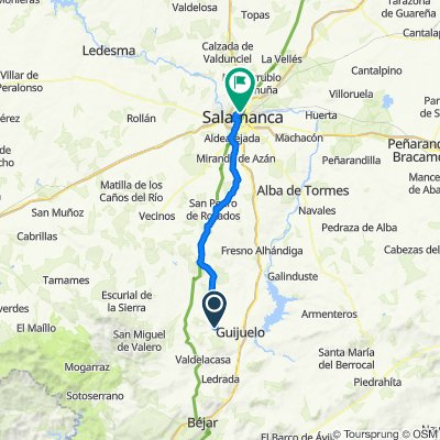 De Fuenterroble a Salamanca