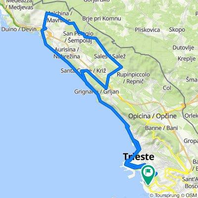 Ebike Costie Vitalba S. Croce Pros Gabr Malch Cerg Sist Costiera (for post alle Torri)
