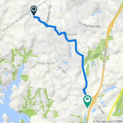 2323 Palmdale Walk Dr, Fort Mill to 857 Promenade Walk, Fort Mill