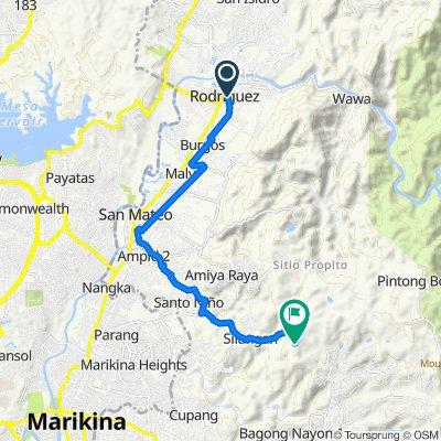 Daang Bakal Street 556, Rodriguez to Sandugo Trail, Antipolo