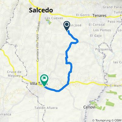 De Carretera Los Limones a Carretera San Francisco Macoris Villa Tapia