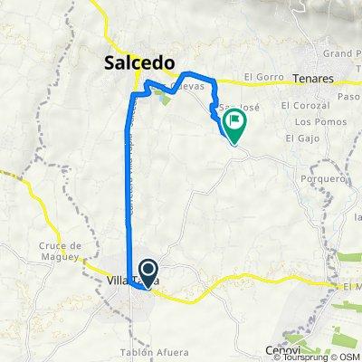 De Carretera San Francisco Macoris Villa Tapia a Carretera Los Limones