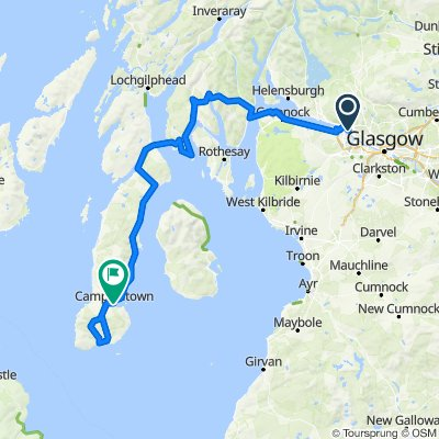 Dalmuir to Southend and Campbeltown