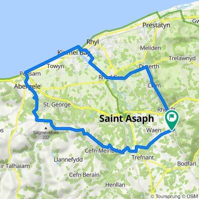 2 Summerhill Court, St Asaph to 2 Summerhill Court, St Asaph