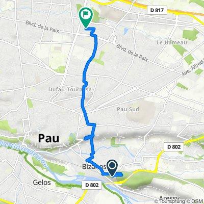 De Chemin Henri IV, Bizanos à 3 Impasse Viollet le Duc, Pau