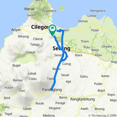 Jalan Pejaten Mas 4, Kecamatan Kramatwatu to Jalan Pejaten Mas 4, Kecamatan Kramatwatu