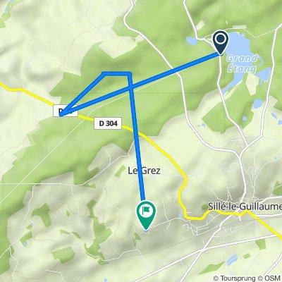 De 37 Impasse de la Cale, Sillé-le-Guillaume à 10 Route d'Hantenaise, Le Grez