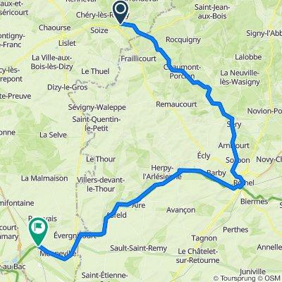 B05 Compostelle Rozoy sur Serre- Guignicourt