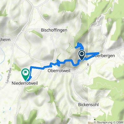 Route nach Niederrotweil 33, Vogtsburg im Kaiserstuhl