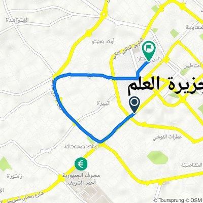 Route from Tripoli Street, Misrata