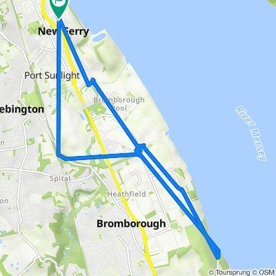 Ingleby Road 22, Birkenhead to Woodford Road 21, Birkenhead