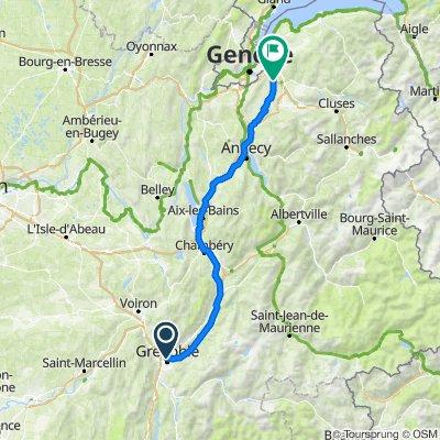 Voyage Grenoble - Arthaz