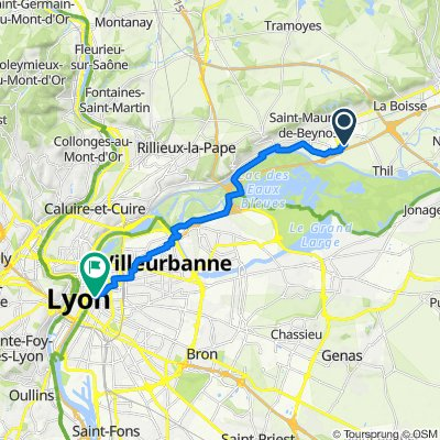 De Beynost à Rue Duphot 4, Lyon