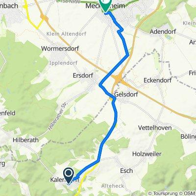 Vischeler Straße 17, Kalenborn nach Hauptstraße 65, Meckenheim
