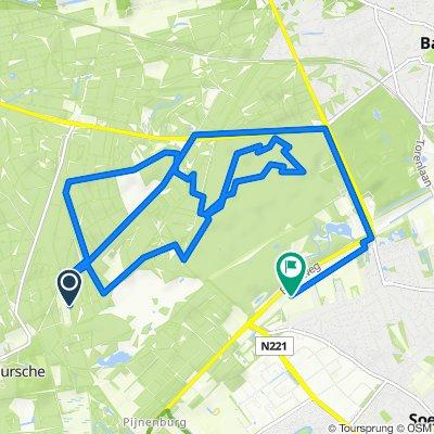 MTBroute-LageVuursche 10 km