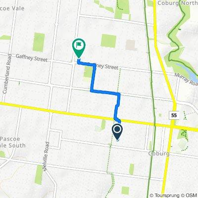 14 Alice Street, Coburg to 180-196 Gaffney Street, Coburg North