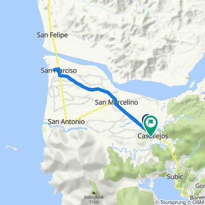 National Highway 3, Castillejos to National Road 97, Castillejos City