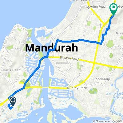 17 Pyrford Ramble, Mandurah to Education Drive, Mandurah