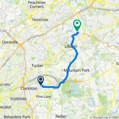4346 Hambrick Way, Stone Mountain to 866–898 Beaver Ln NW, Lilburn