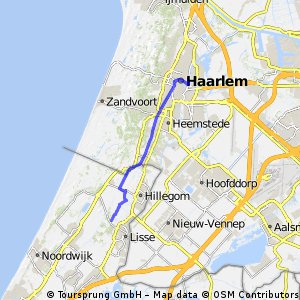 Navigate 17 Km Long Cycling Route In Lisse Bikemap Your Bike
