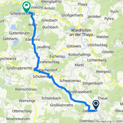 Neubaustraße 20, Allentsteig nach Pfaffenschlag 51, Pfaffenschlag bei Waidhofen an der Thaya