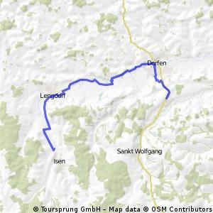 Isen, Lengdorf, Oberdorfen,Dorfen, Armstorf