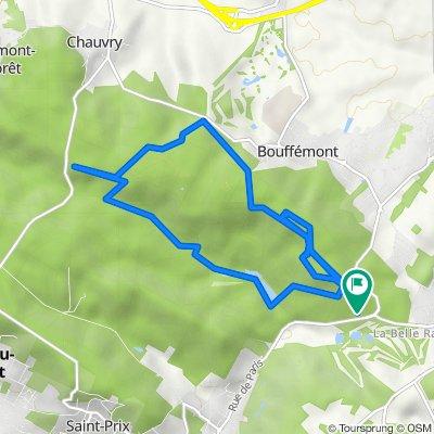 De Route Forestière du Faîte, Domont à Route Forestière du Faîte, Domont