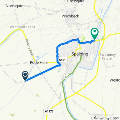 Horseshoe Road, Pode Hole, Spalding do 4 Crown Dr, Spalding