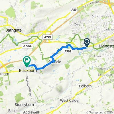 Simpson Parkway, Livingston to Novar, 28 Bathgate Road, Bathgate